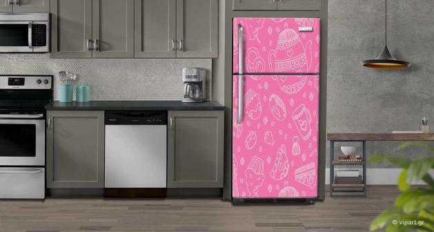 """Αυτοκόλλητο Ψυγείου """"Colored Graphic"""""""