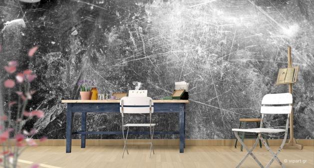 Ταπετσαρία Τοίχου Grey Texture