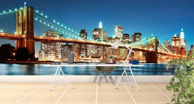Ταπετσαρία Τοίχου NY Brooklyn Bridge