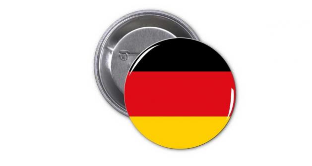 Κονκάρδα Γερμανική Σημαία - German Flag