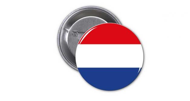 Κονκάρδα Ολλανδική Σημαία - Holland Flag