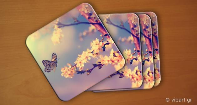 Σουβερ 6 τεμάχια Butterfly Almond Tree