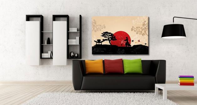 Καμβάς Watercolor Αμυγδαλιά