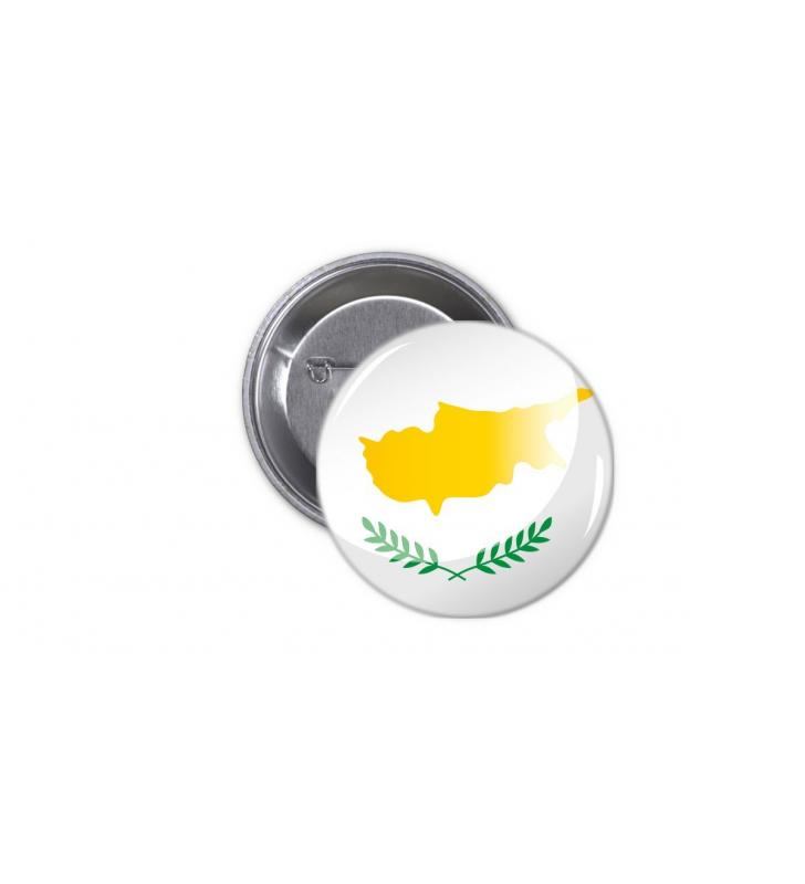 Κονκάρδα Κυπριακή Σημαία - Cyprus Flag