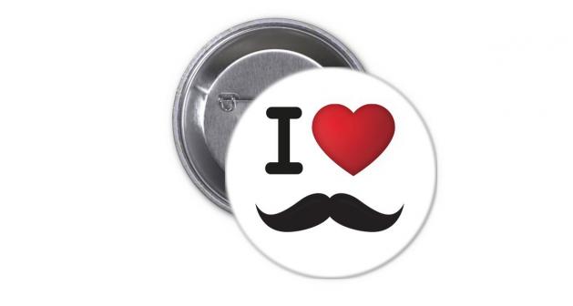 Κονκάρδα I Love mustache
