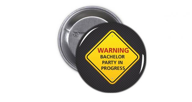 Κονκάρδα Warning Bachelor Party in Progress
