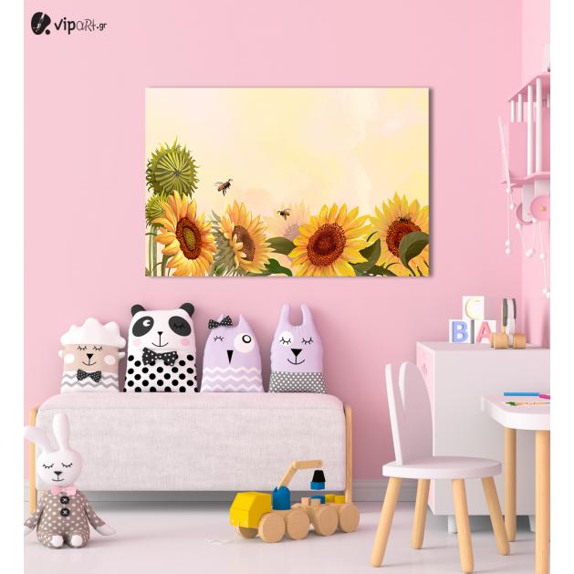 Πίνακας Καμβάς Sunflowers