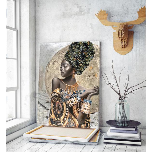 Πίνακας Καμβάς Tribal Woman art