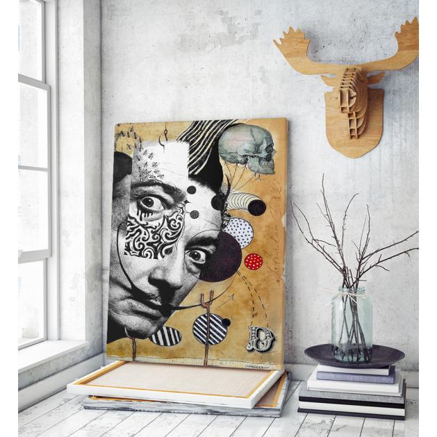 Πίνακας Καμβάς Dali Abstract Art