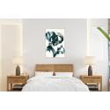 Πίνακας σε Καμβά Couple Silhouette Painting art