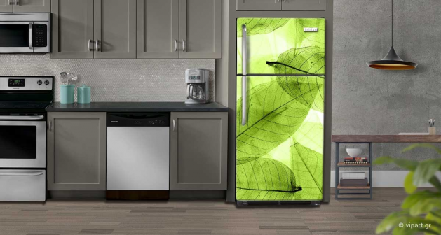 """Αυτοκόλλητο Ψυγείου """"leaves"""""""