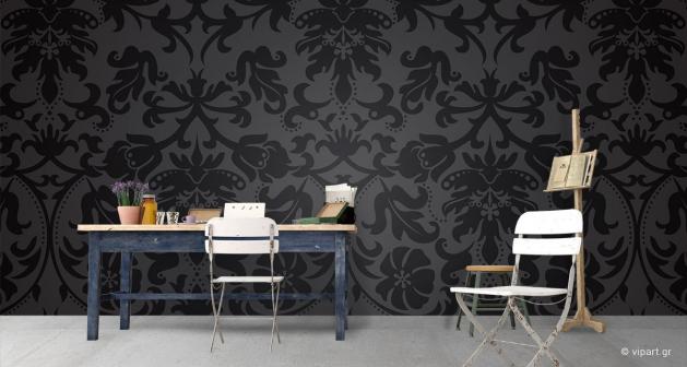 Ταπετσαρία Τοίχου Floral Motivo