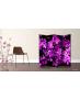 Παραβάν Τετράπτυχο Purple Flowers