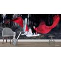 Ταπετσαρία Τοίχου Σκοτεινή Κοκκινοσκουφίτσα