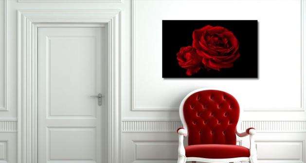 Καμβάς Passion Red Roses