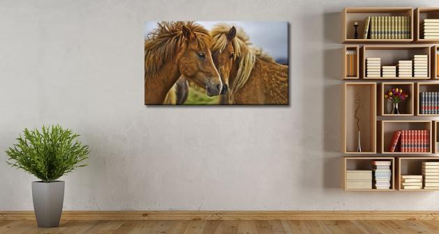 Καμβάς Lovely Horses