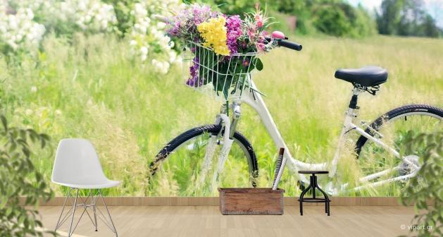 Ταπετσαρία Τοίχου Nature Bicycle