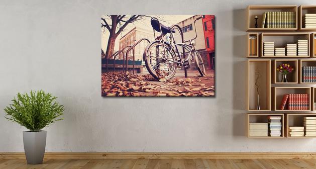 Καμβάς Autumn Bike