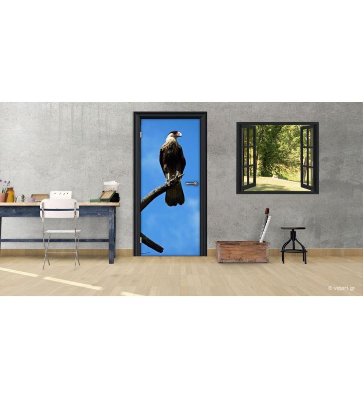 """Αυτοκόλλητο Πόρτας """"Bird"""""""