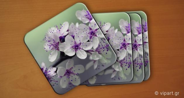 Σουβερ 6 τεμάχια Λουλούδια