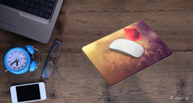 Mousepad 2 τεμάχια Παπαρούνα
