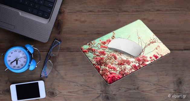 Mousepad 2 τεμάχια Ροζ Λουλούδια