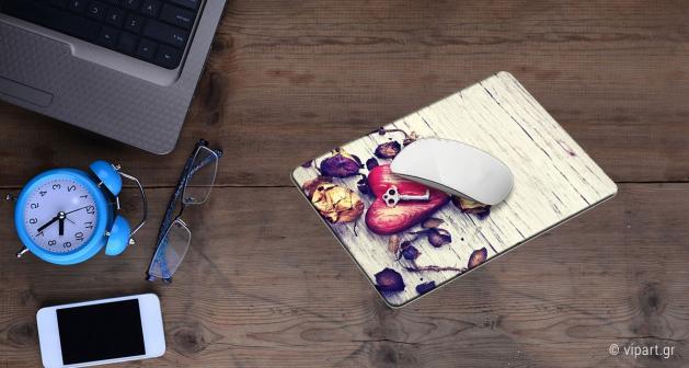 Mousepad 2 τεμάχια Ροζ Δάσος