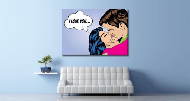 Καμβάς Art I Love You