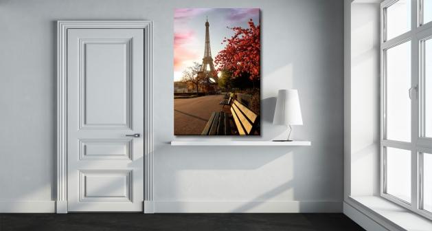 Καμβάς Παρίσι Πύργος του Άιφελ
