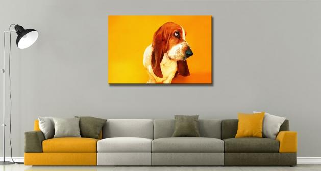 Καμβάς Σκύλος Λουκάνικο