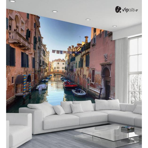 Ταπετσαρία Τοίχου Βενετία Σπίτια