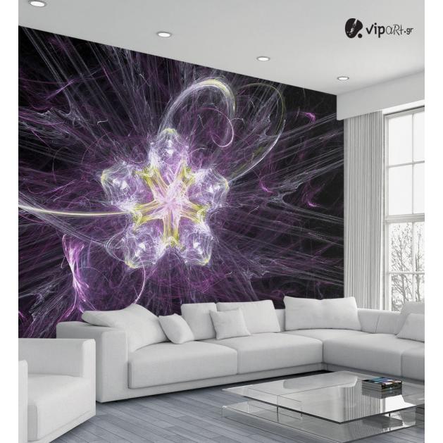 Ταπετσαρία Τοίχου Purple Art
