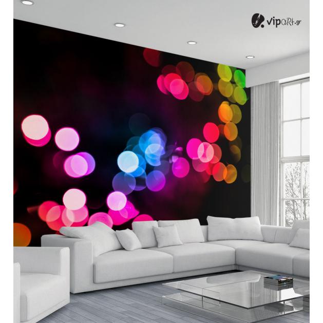 Ταπετσαρία Τοίχου Colored Dots