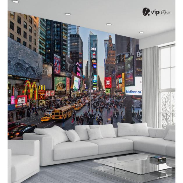 Ταπετσαρία Τοίχου Times Square New york - Usa City