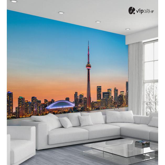 Ταπετσαρία Τοίχου Καναδάς Γραμμή ορίζοντα - Τοrοntο Skyline