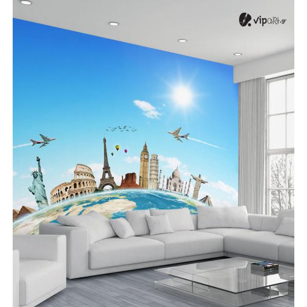 Ταπετσαρία Τοίχου  Παγκόσμια θαύματα - World Wonders