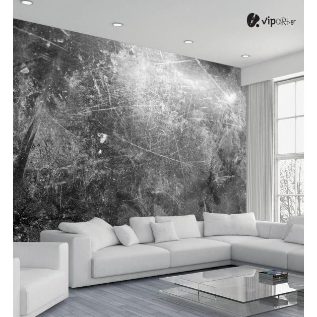 Ταπετσαρία Τοίχου γκρί τεχνοτροπία - Grey Texture