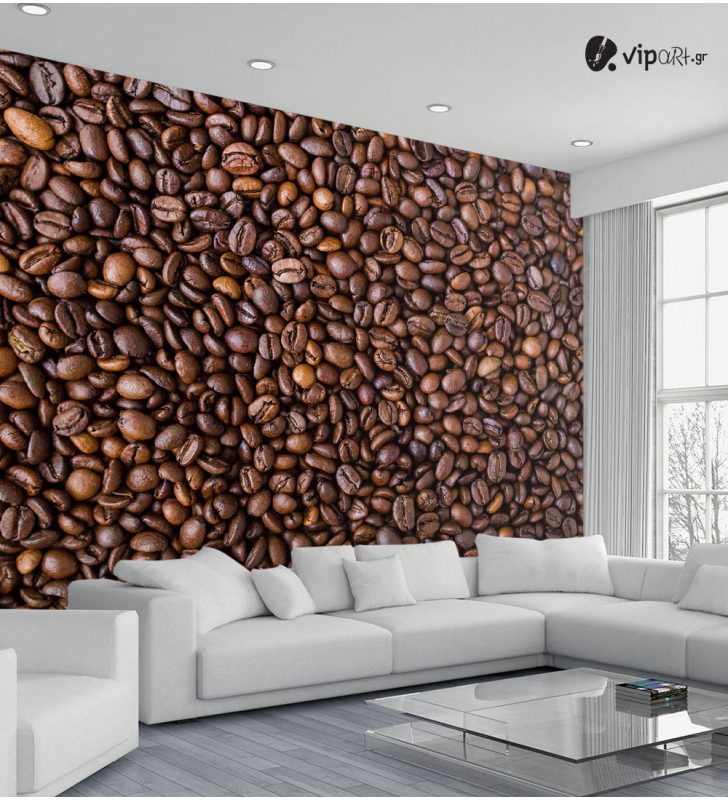 Ταπετσαρία Τοίχου κόκκοι καφέ Coffee Beans