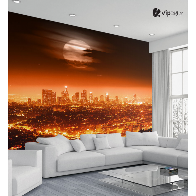 Ταπετσαρία Τοίχου Los Angeles Sunset Lights