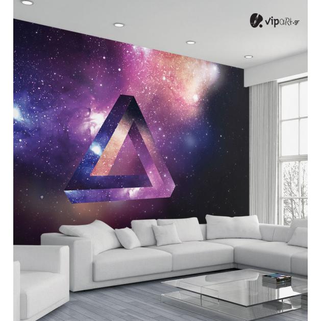 Ταπετσαρία Τοίχου Space Triangle