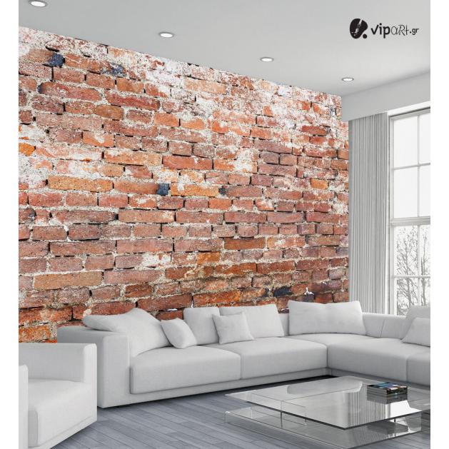 Αυτοκόλλητη Ταπετσαρία Τοίχου Παλιός τοίχος με Πέτρες 3d