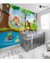 Αυτοκόλλητη Ταπετσαρία Τοίχου για Παιδικό Δωμάτιο με Παιδιά που παίζουν στη Φύση
