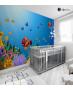 Παιδική Ταπετσαρία Τοίχου Θάλασσα - Ψάρια - βυθός