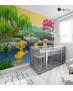 Αυτοκόλλητη Ταπετσαρία Τοίχου για Παιδικό Δωμάτιο με Παπάκια κίτρινα