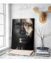 Πίνακας σε Καμβά woman dark skin gold makeup art 4