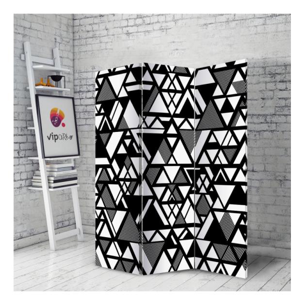 Διακοσμητικό Παραβάν Triangle Motif