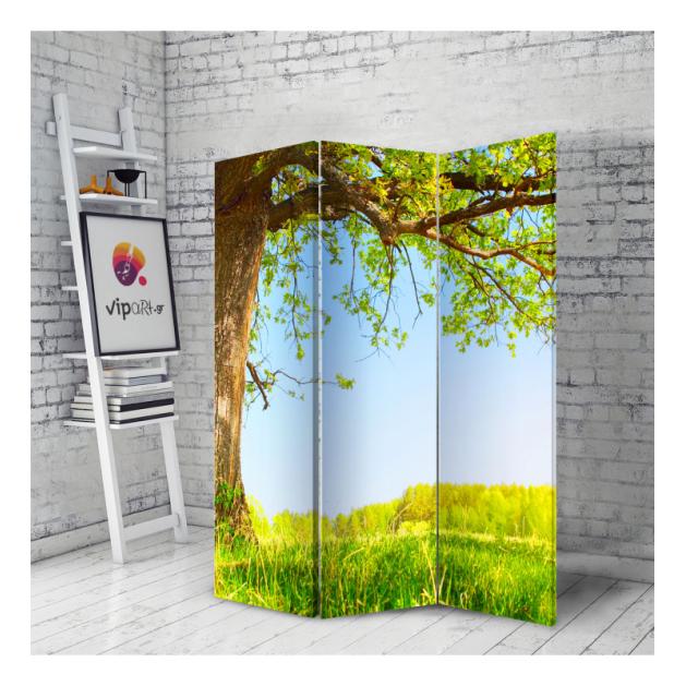 Διακοσμητικό Παραβάν Δέντρο Καλοκαίρι Under The Tree Summer