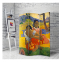 Διακοσμητικό Παραβάν  Σε Καμβά Gauguin When Will You Marry?