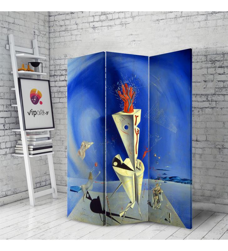 Διακοσμητικό Παραβάν Σε Καμβά Pablo Picasso - Salvador Dali