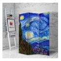 Διακοσμητικό Παραβάν Σε Καμβά Van Gogh Starry Night